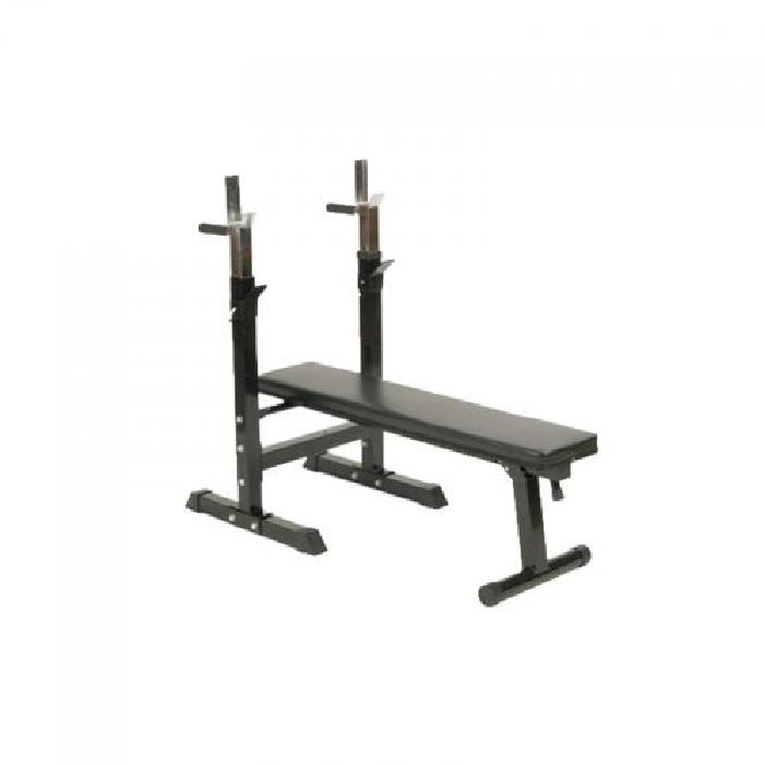 Gorilla Sports Banc de musculation avec support de barres ce banc