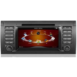 AUTORADIO MONITOR NAVIGATORE GPS PER BMW SERIE 5 E39 X5 E53 M5 DA