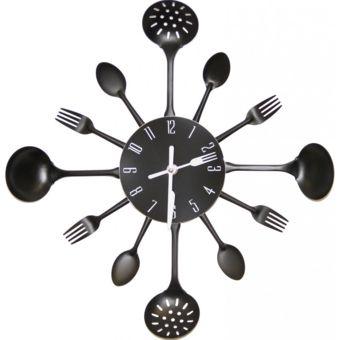horloge murale cuisine noir 18 ? 81 10 % ajouter au panier