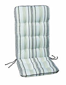 Coussin pour fauteuil exterieur topiwall - Coussin fauteuil jardin haut dossier ...
