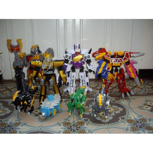 Lot Mégazord Dino Charge Achat vente neuf occasion