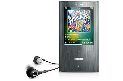 Lecteur audio vidéo MP3 MP4 Philips Ariaz 4 Go SA2ARA04K (3212890)