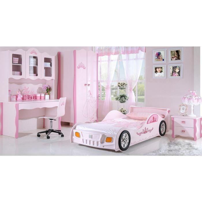 Chambre enfant complete Princesse avec lit voit? Achat / Vente lit