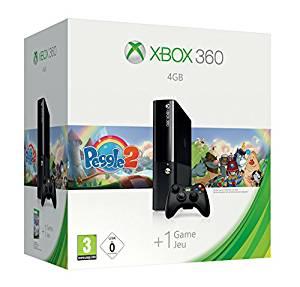 Console Xbox 360 4Go + Peggle 2: Jeux vidéo