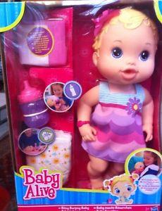 Poupee Baby Alive Hasbro /Bebe Fait Son Rot/3ans Et+