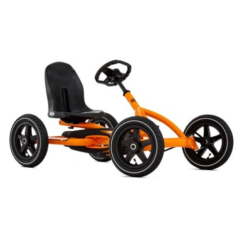 Kart à pédales Buddy Orange Berg pour enfant de 3 ans à 8 ans
