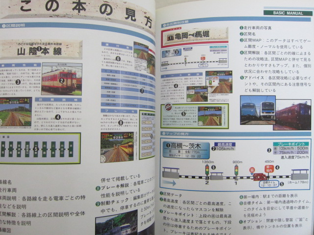 DENSHA DE GO Hisshouhou Special Guide Book Japan Japanese Play Station