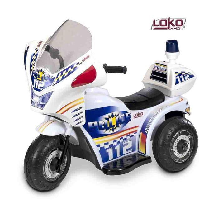 Moto de Police Electrique Enfant Achat / Vente moto scooter