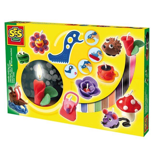 SES CREATIVE Kit de création Bougies