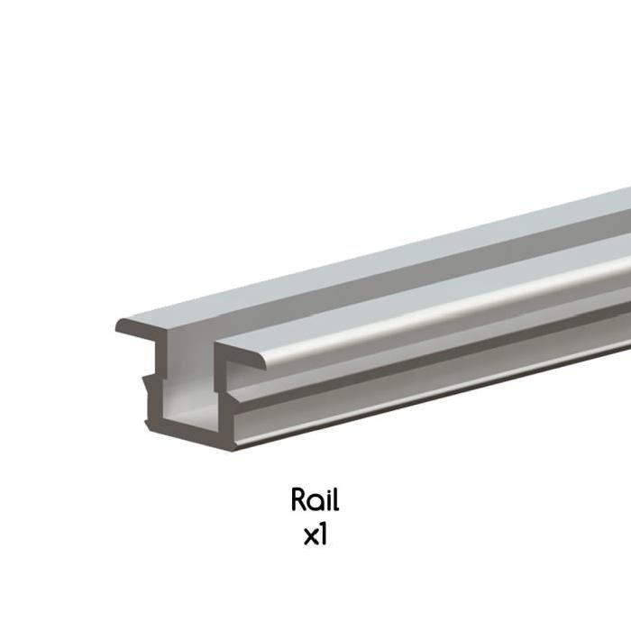 Rail aluminium 2,5 m pour système coulissant TW Achat / Vente porte