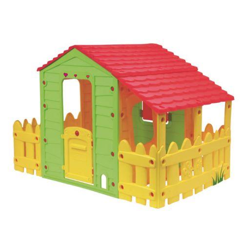 Habitat et Jardin Cabane enfant ferme Fun avec jardinet 185 x 118