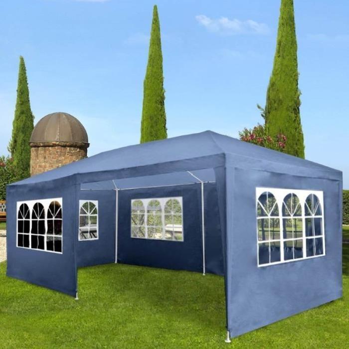 Pavillon ,tonnelle bleu ,abris de jardin , Achat / Vente tonnelle
