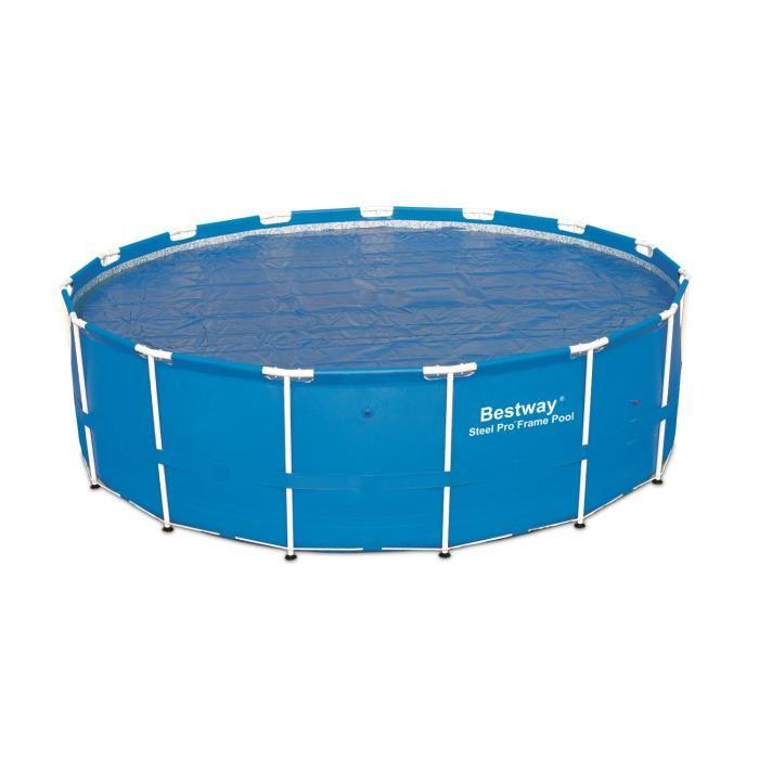 Pompe piscine bestway topiwall for Bache solaire pour piscine