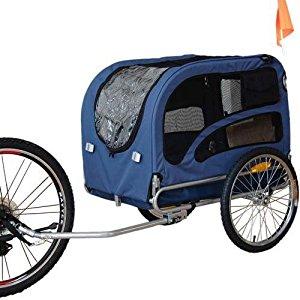 DOGGYHUT Remorque de vélo pour animaux chien Remorque de Velo pour