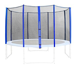 SixBros. Filet de sécurité de rechange bleu pour trampoline de