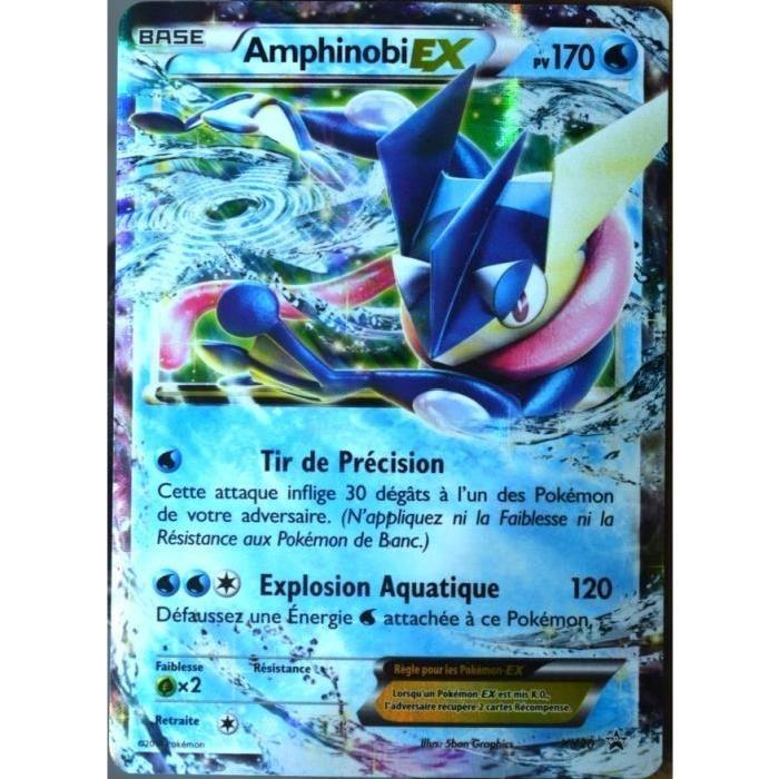 carte pokemon xy20 amphinobi ex 180 pv promo