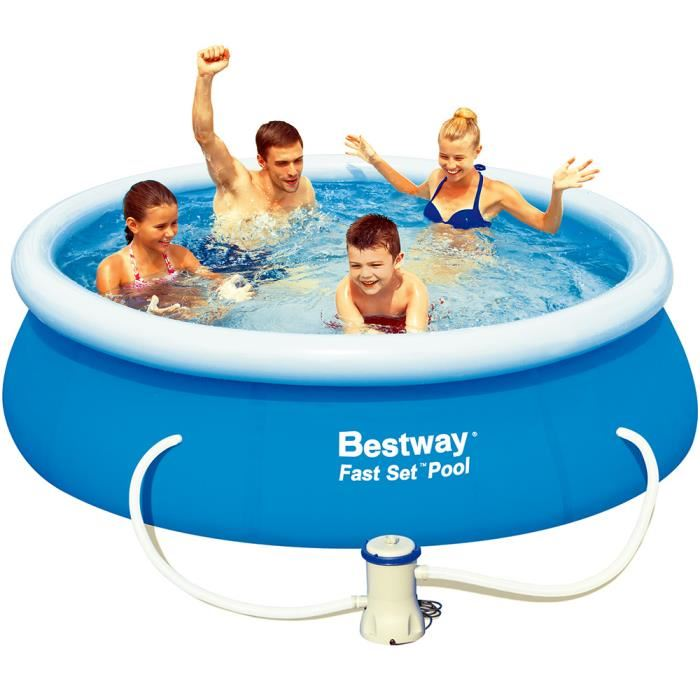 Pompe piscine bestway topiwall for Achat de piscine