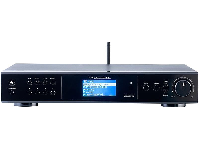 VR Radio Internetradio TunerIRS 820.HiFi mit Digitalradio DAB+ & UKW