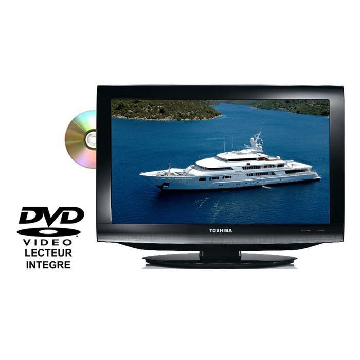 TV LCD Combi TOSHIBA 26DV733G téléviseur combiné, prix pas cher