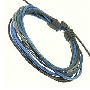 Style de surfeur surf bracelet cordon multicolore bracelet d'hommes