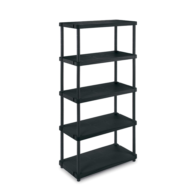 finest affordable fabulous amazing tagre rsine noire plateaux x cm castorama with etagere charge. Black Bedroom Furniture Sets. Home Design Ideas