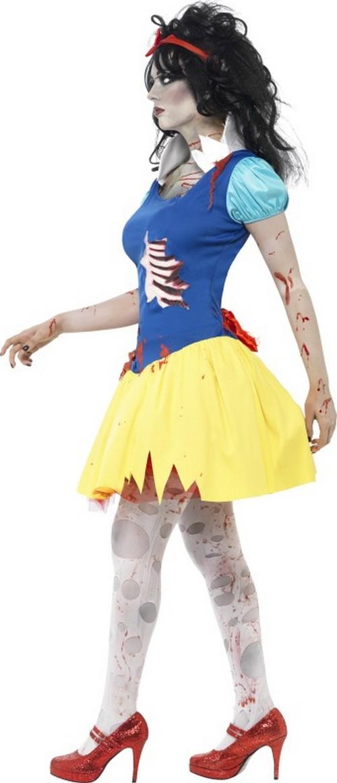 Déguisement zombie princesse conte de fées femme Halloween Costume