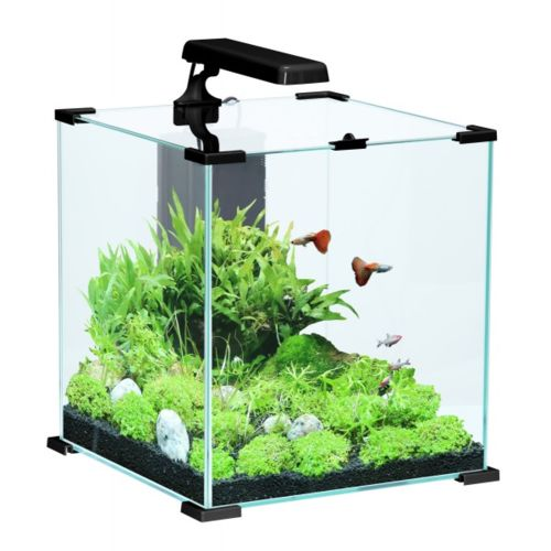 Zolux Aquarium Aqua NanoLife cube 50 Noir Aquatlantis pas cher
