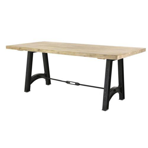 Alinéa Gustave Table de repas rectangulaire en acacia L180cm pas