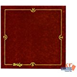 Tapis Bridge CARTES PRODUCTION (77/77 cm) Vert: Jeux et