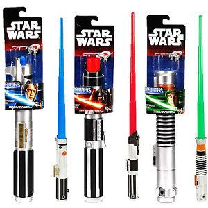 Star Wars Basique Extensible Sabre Laser Disney Officiel Bladebuilders