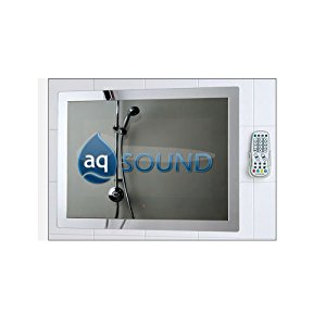 AQ TV Etanche de 43cm Finition miroir: High tech