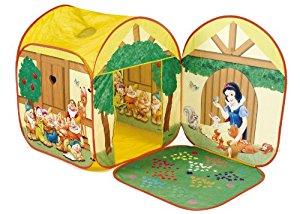Disney Princesse Blanche Neige, Tente de Jeux: Jeux et