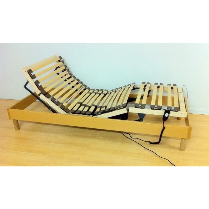 Sommier de relaxation électrique, Taille 90×200 Achat / Vente