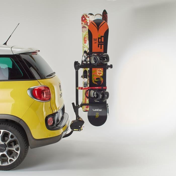 MOTTEZ A022P Porte Ski et Surf sur Attelage Achat / Vente porte ski