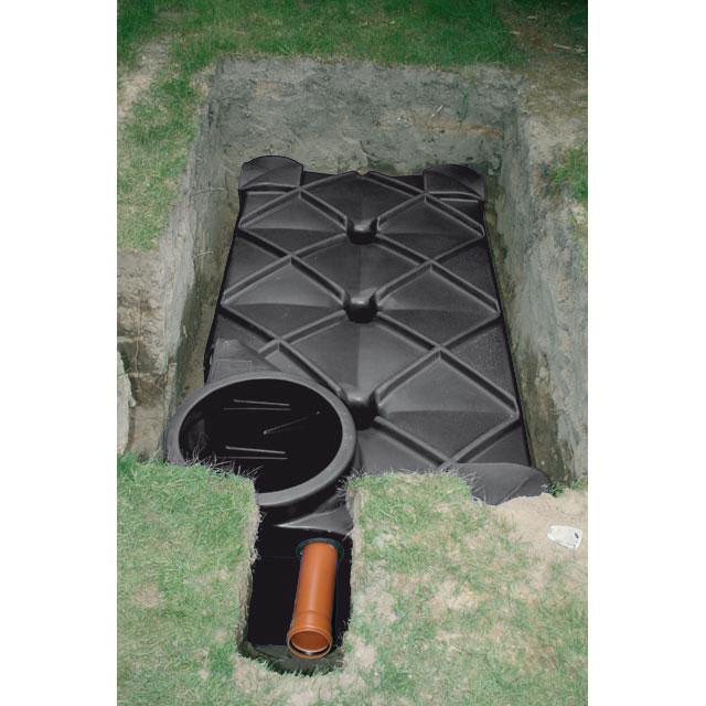Gouttière et récupération d'eau de pluie CASTORAMA