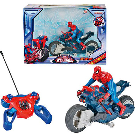 Voiture radiocommandee topiwall - Jeux spiderman moto ...
