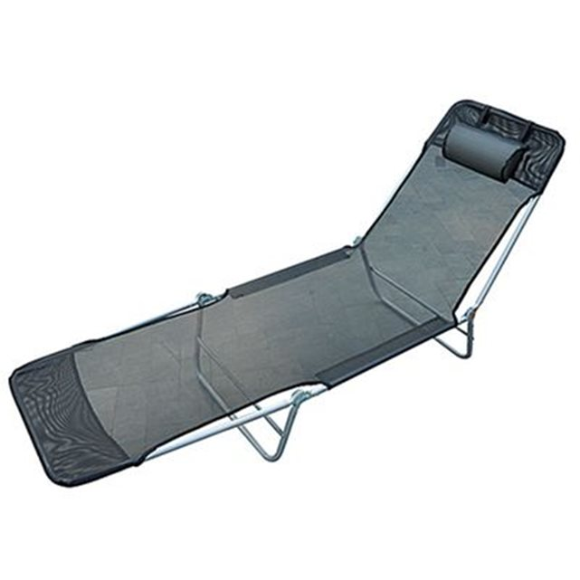 Chaise longue pliante topiwall for Relax plage pliante