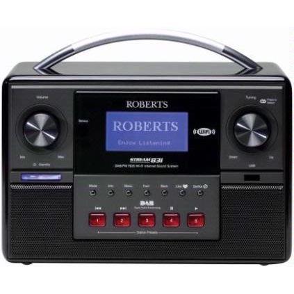 Roberts Radio Stream 83i Radio Internet avec Tu? radio cd cassette