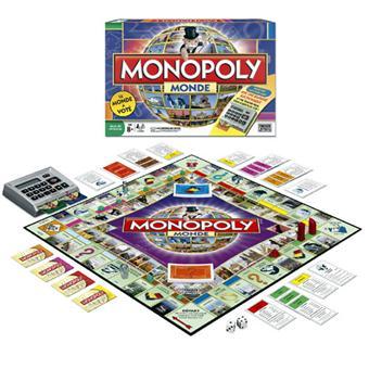 Hasbro Monopoly monde electronique Jeu de stratégie Achat & prix