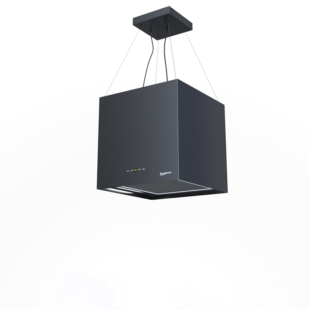 Bergstroem Design hotte de cuisine îlot en suspension