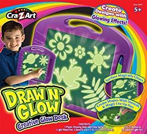 Cra Z Art Draw 'N' Glow Dessine et Brille Ardoise Magique