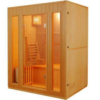 France Sauna Sauna Traditionnel Finlandais Zen 3 pas