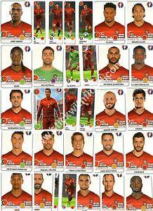Uefa euro 2016 panini stickers équipe complète portugal