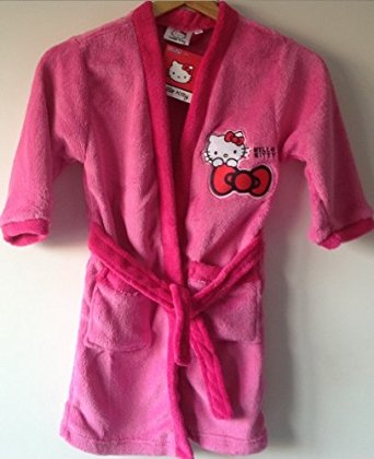 Robe fushia topiwall - Robe de chambre hello kitty ...