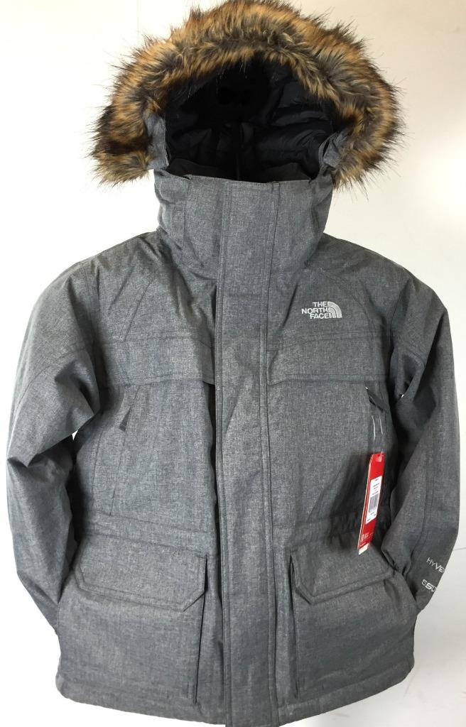 New Boy 039 s The North Face Mcmurdo Parka Jacket 550 Fill Goose Down