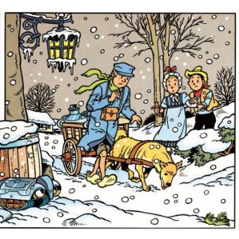 Puzzle 200 Pièces : Bob et Bobette : Le jeune homme et le chien