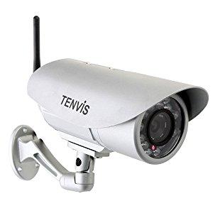 TENVIS IP391W Caméra réseau IP de vidéosurveillance extérieure