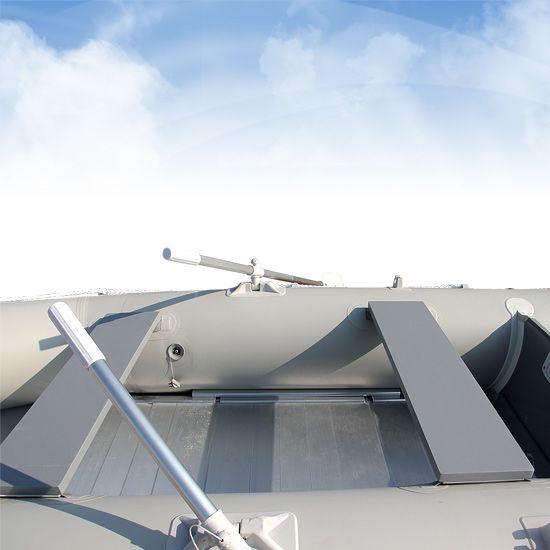 Bateau à moteur pneumatique gonflable annexe canot barque 4 personnes