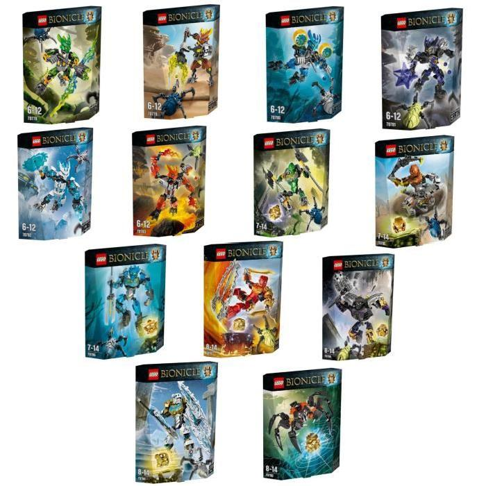 LEGO® Bionicle Pack Complet Achat / Vente assemblage construction