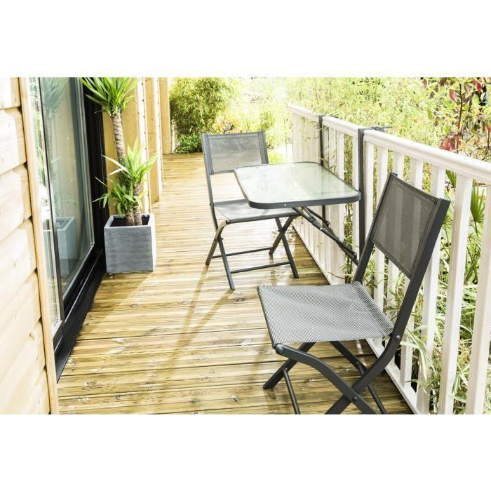 TABLE DE BALCON PLIANTE Achat / Vente table de jardin TABLE DE